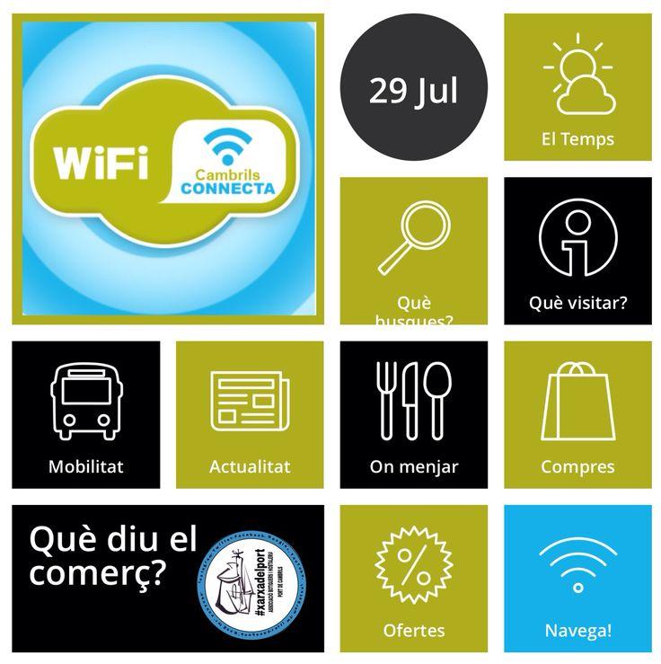 Wifi CambrilsConnecta amb #xarxadelport