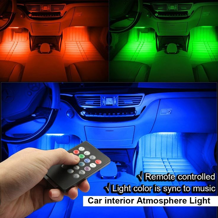 17 best ideas about led light strips on pinterest bed lights night lights and interior lighting for Car interior led lighting multicolor