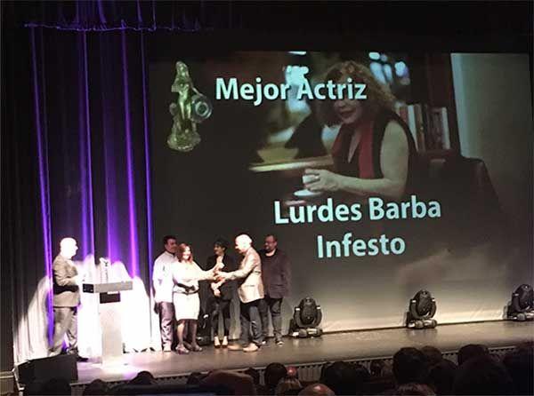 INFESTO, Ganador Premios Oriana 2016 a la mejor Actriz