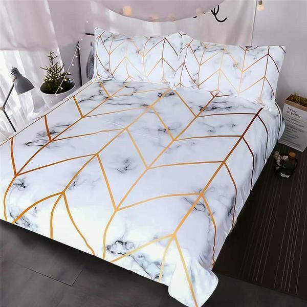 Marble Bed Set Bedding, Marble Queen Bedding