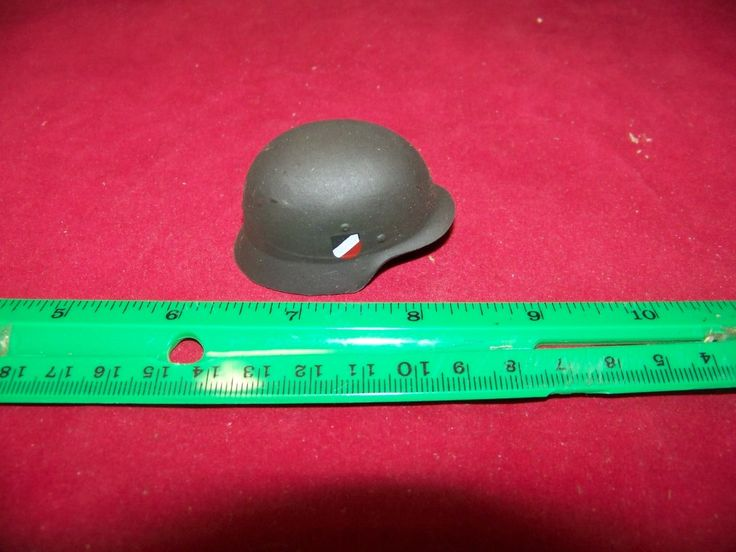 1/6 Scale 21st Century German Helmet 3 x Decal missing chin strap