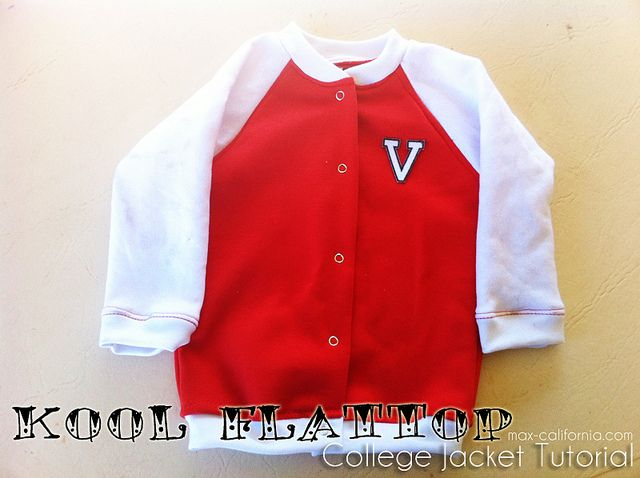 Kool Flattop College Jacket Tutorial