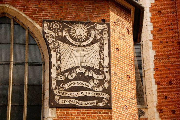 Relógio de Sol - Basilica Santa Maria - Cracóvia