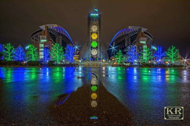 """Century Link Field aka """"The Clink"""". Home of the Seattle Seahawks & The 12"""
