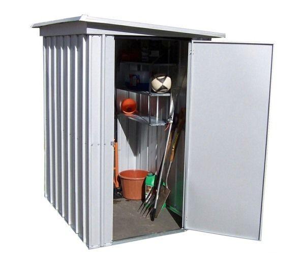yardmaster 54pez pent 5ft 4ins x 3ft 11ins metal garden shed gardensiteco
