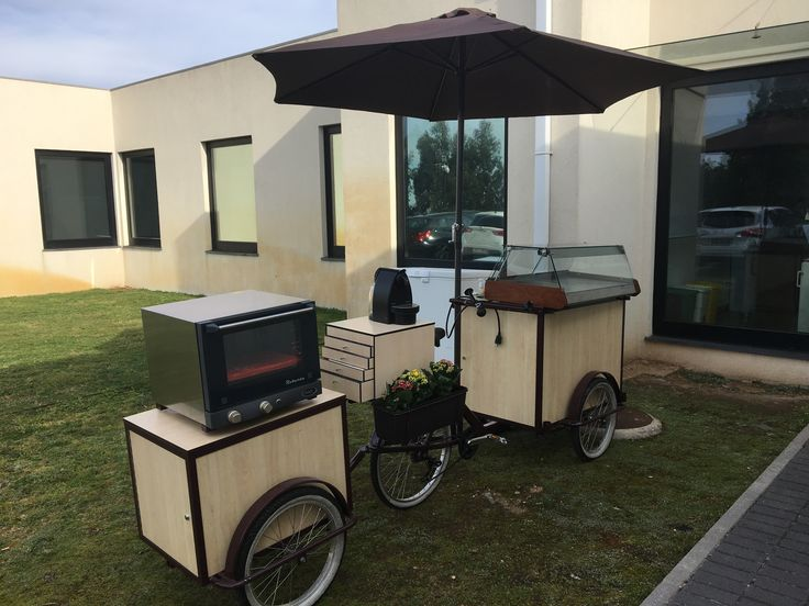 Street food bike pasteis de Chaves café com farda - Não Sejas Pastel