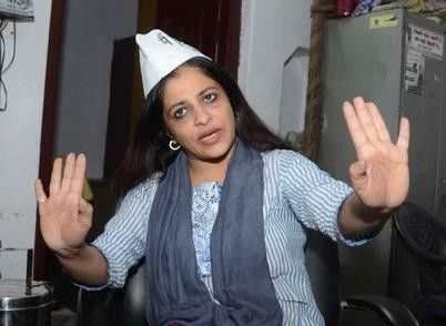 Former Aam Aadmi Party (AAP) leader Shazia Ilmi likely to join BJP, may contest against Arvind Kejriwal - http://sikhsiyasat.net/2015/01/14/former-aam-aadmi-party-aap-leader-shazia-ilmi-likely-to-join-bjp-may-contest-against-arvind-kejriwal/