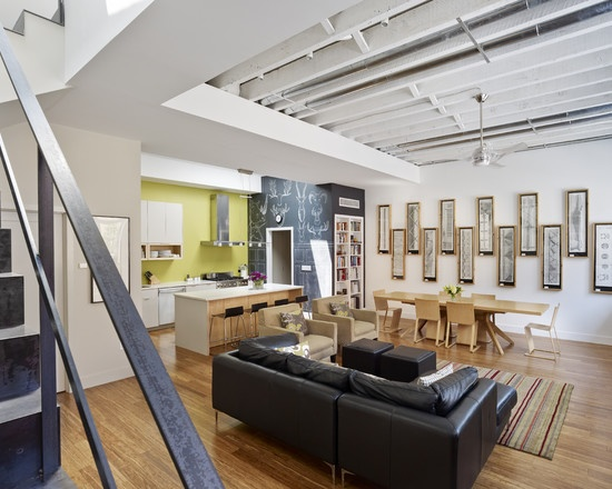 exposed ceiling lighting basement industrial black. home design and interior gallery of awesome industrial living room warehouse conversion black sofa exposed ceiling lighting basement