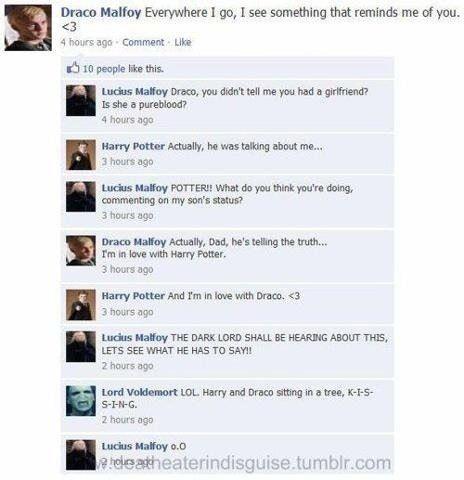 Drarry Ha Ha Ha Ha