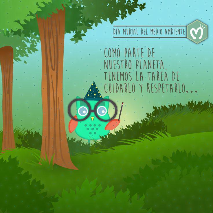 Día Mudial del Medio Ambiente. #DíaDelMedioAmbiente #Respira #Planeta #Reciclar #MigasTienda #M