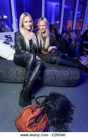 Valentina Pahde and Cheyenne Pahde at the launch party of the new Sony Entertainment Television broadcast at Praterinsel. - Stock Photo
