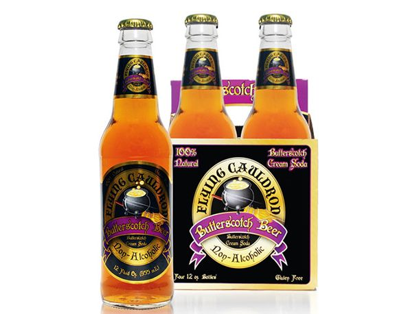 Butterbeer, now in convenient bottled form!