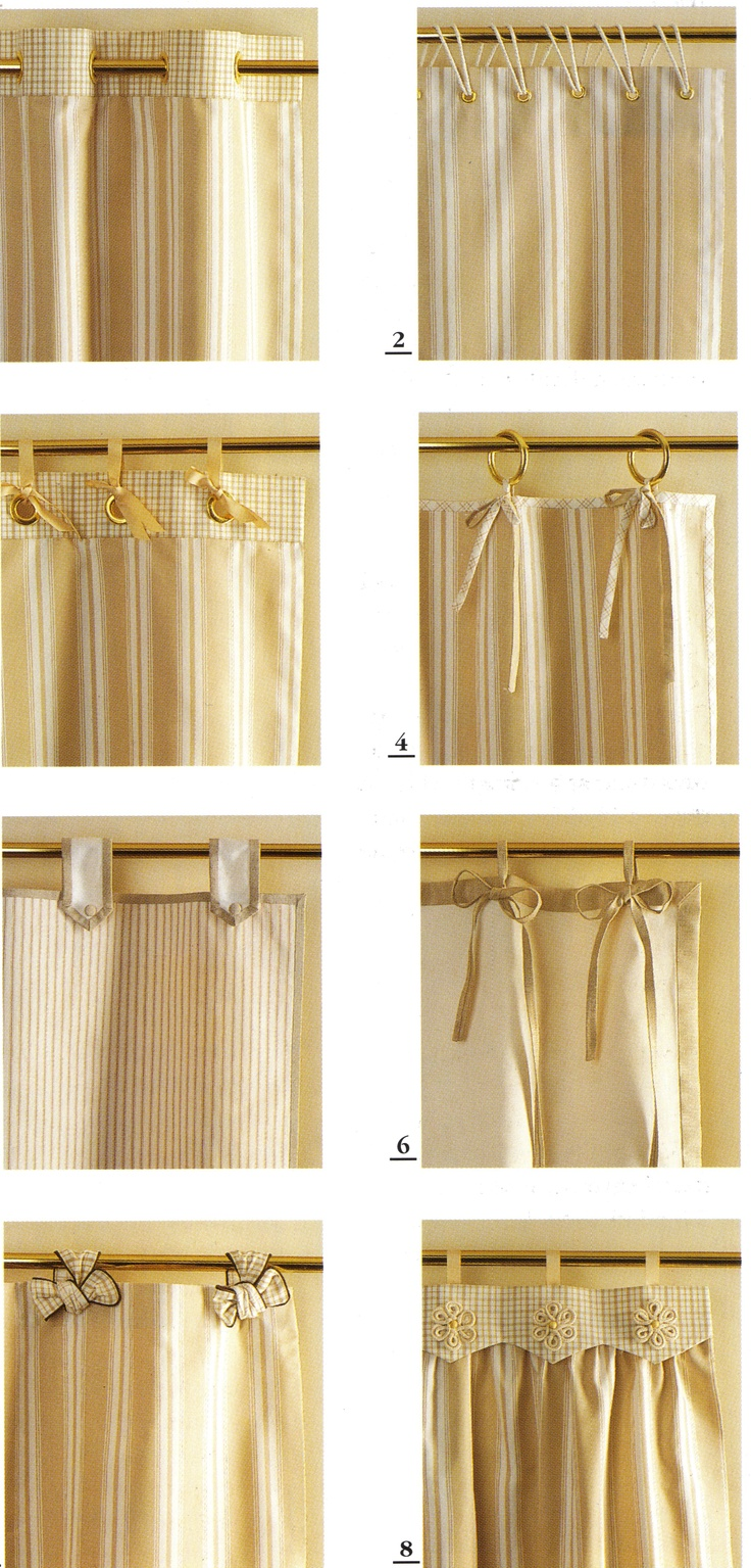12 best curtain styles images on pinterest curtain. Black Bedroom Furniture Sets. Home Design Ideas