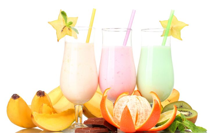 Retete de shake-uri sanatoase pentru vara
