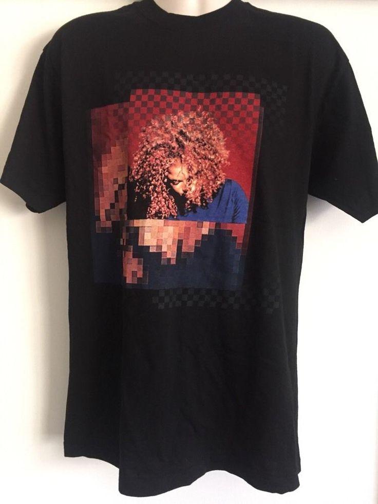 Vintage 1998 Janet Jackson T Shirt Tour Band R B Hip Hop Rap Concert Size L | eBay