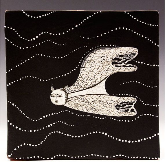 Wall Tile  Number Four of the Atlanta Series  Wall by jennymendes, $185.00