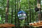 Boler Mountain Treetop Adventure Park - Zip lining obstacle course.