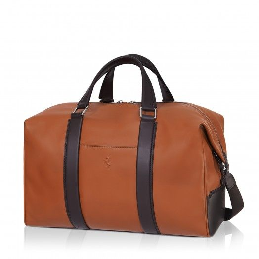 Tod's for Ferrari - Holdall - Ferrari Store  #Ferrari #FerrariStore #Tod's #Accessories #SpringSummer #brown #bag #SS15 #Holdall #Smooth #Leather #Craftsmanship #PrancingHorse #Detail