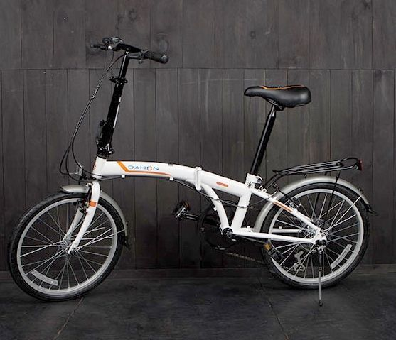 NEW Dahon SUV D6 Special Edition Folding Bike White 20 Inch Wheels Alum Frame…