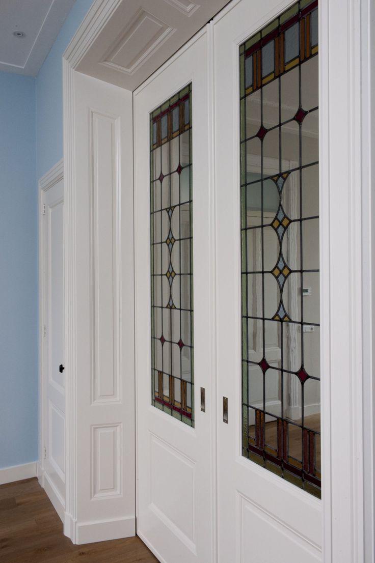 Mooi Glas in Lood, in getailleerde doorgang.