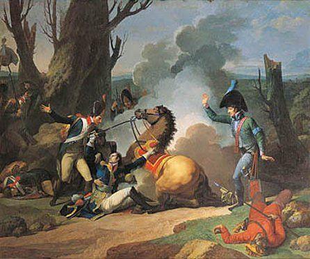 La Mort du général Valhubert, Jean-François Pierre Peyron