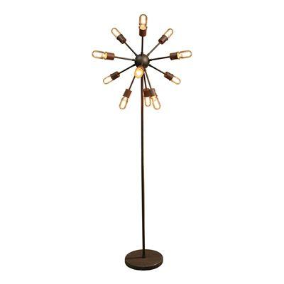 Warehouse of Tiffany LD5380 Marguirite 12-light Edison Floor Lamp