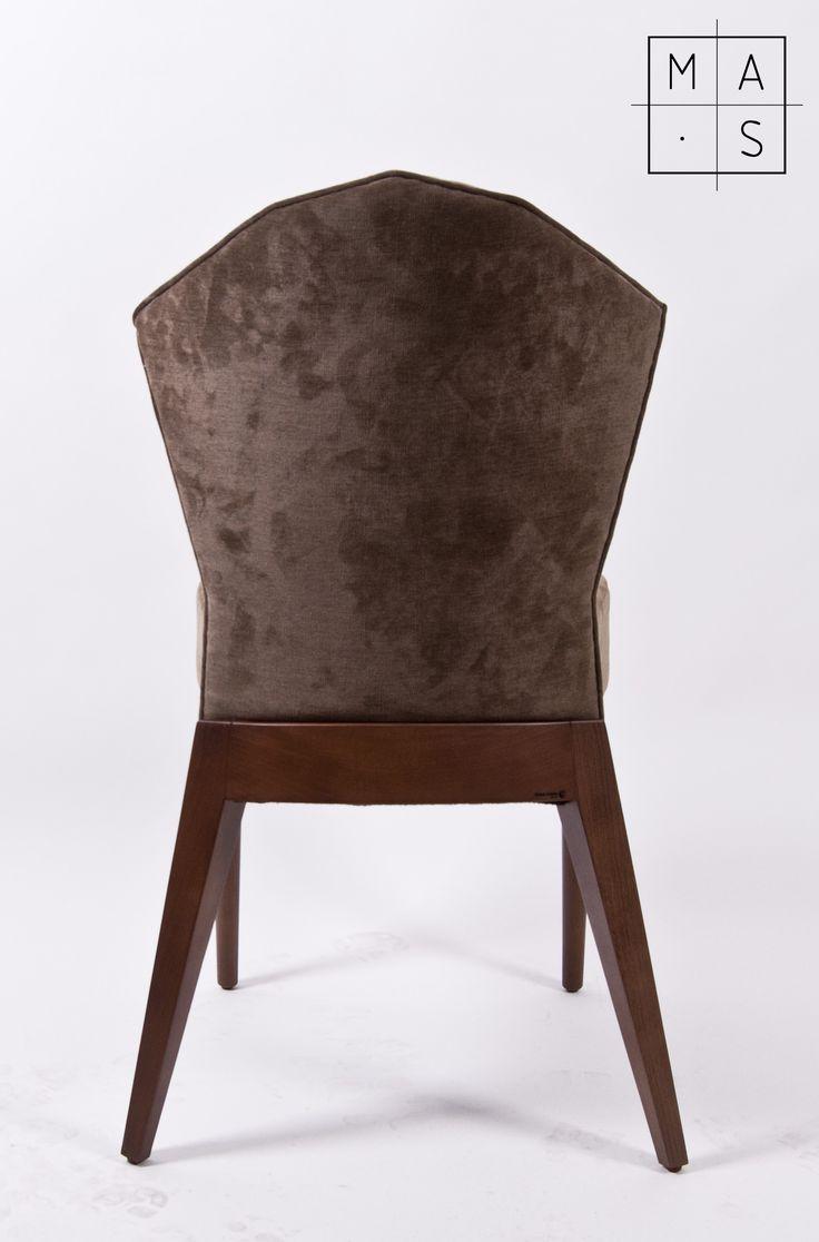 Silla montesqueiro _ diseñada para la Finca montesqueiro por MAS·arquitectura #furniture #design #chair #architecture #interior #interiordesign #diseño #mobiliario #silla #arquitectura #interiorismo #fincamontesqueiro