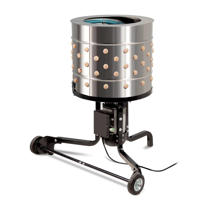 The Yardbird Chicken Plucker takes the hassle out of back-yard chicken processing. Fully DE feathering a bird in 15 seconds or less, the Yardbird revolutionizes what is typically the most painstaking and messy chore of processing a chicken which can take up to 30 minutes plucking by hand.