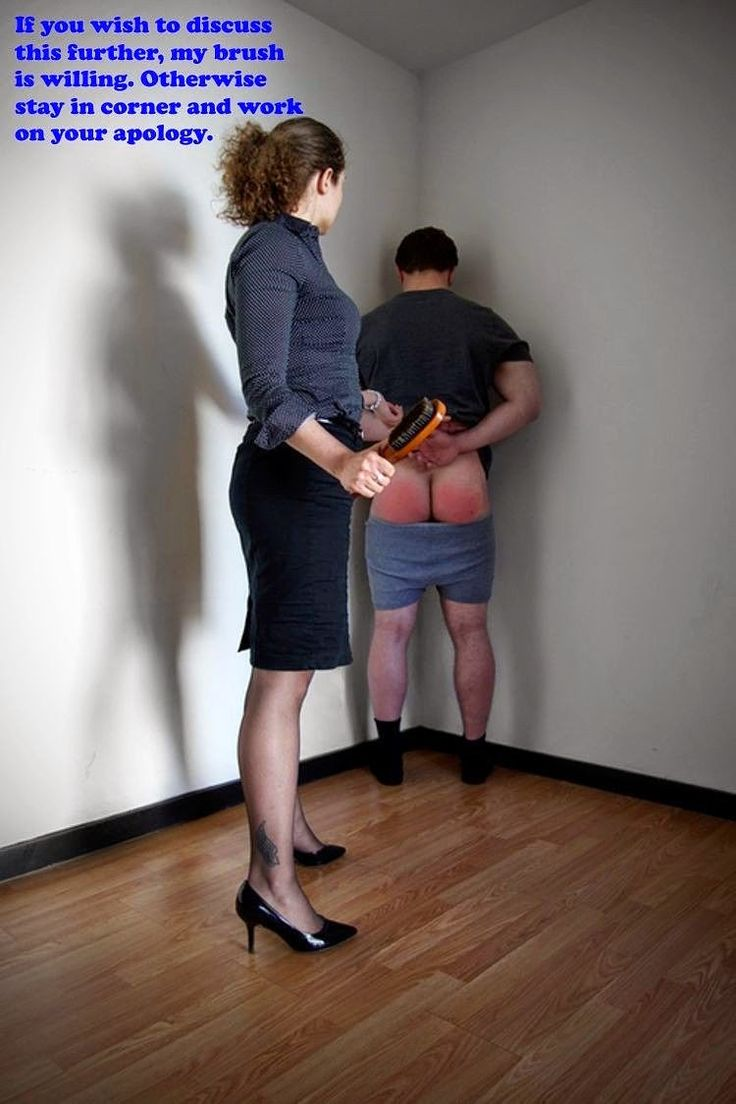 Spanked uk sub fed a mouthful of doms cum - 3 part 2
