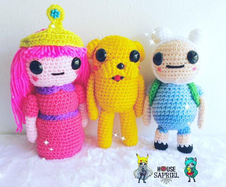 design by @housesapriel  #adventuretime #crochetlover #amigurumi