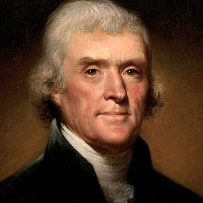 NAME: Thomas Jefferson  OCCUPATION: U.S. President, U.S. Vice President  BIRTH DATE: April 13, 1743  DEATH DATE: July 04, 1826  EDUCATION: College of William and Mary  more about Thomas  BEST KNOWN FOR    Thomas Jefferson was a draftsman of the Declaration of Independence and the third U.S. president (1801-09). He was also responsible for the Louisiana Purchase.