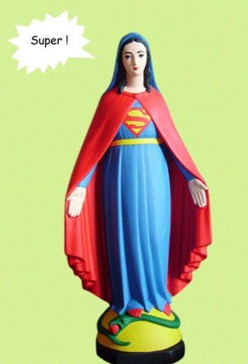 Quando la vergine Maria è pop, la provocazione di Soasig