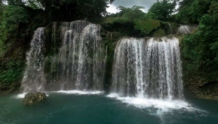 Bolinao 1. This is the first of the 3 famous Bolinao Falls in the Pangasinan province, in the Philippines.