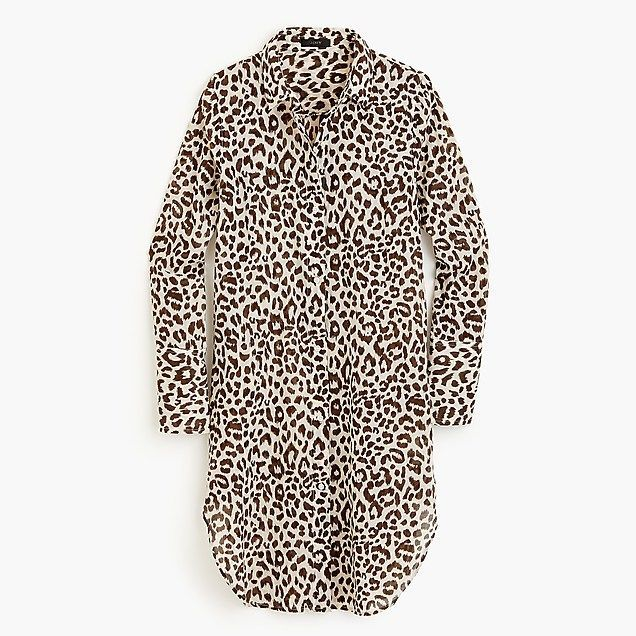 1b3b69e166 Women s Leopard-Print Beach Cover-Up - Women s Swimwear