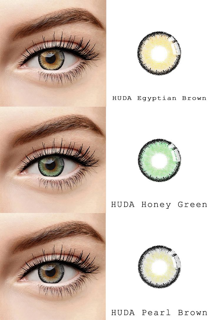 a2200dbba26 microeyelenses.com Colored contact lenses online shop. HUDA series   Egyptian brown