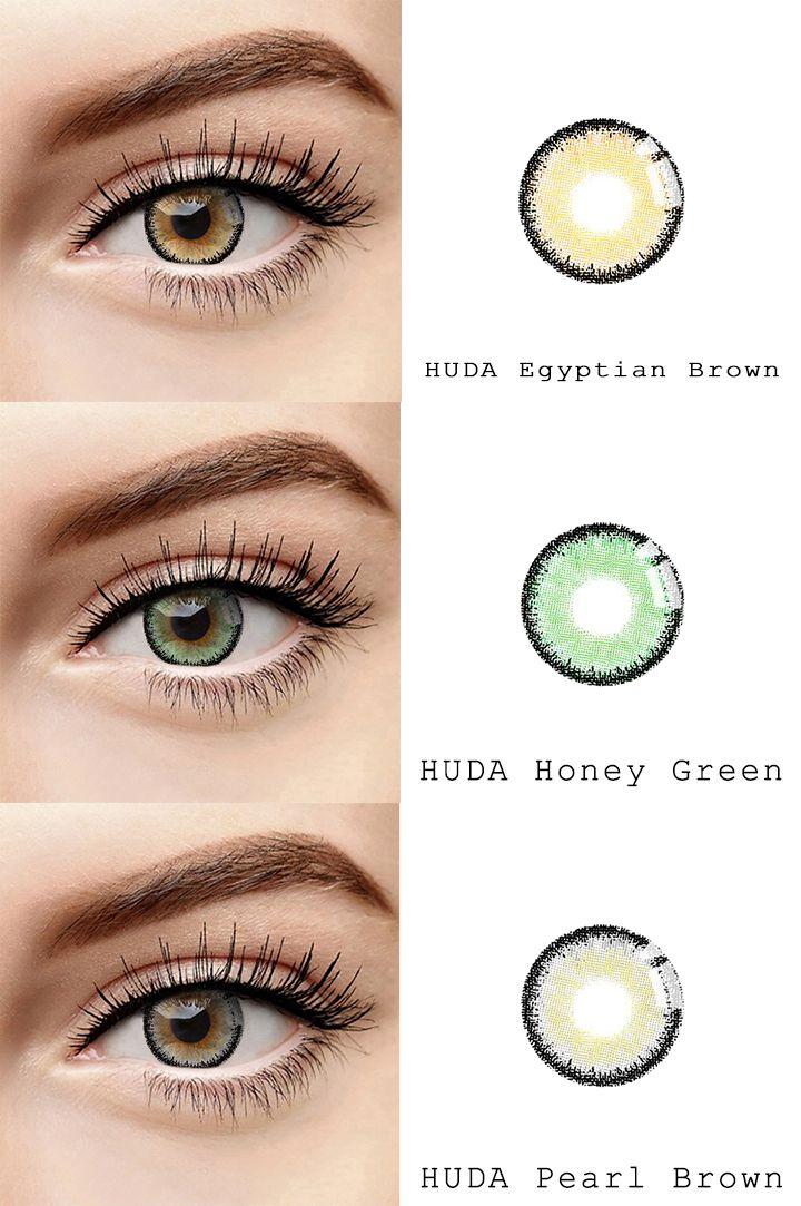 d8e19467ce2e microeyelenses.com Colored contact lenses online shop. HUDA series   Egyptian brown