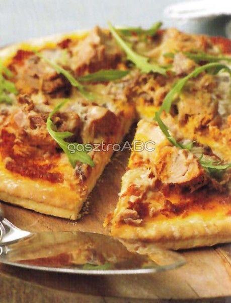 Tonhalas pizza | Receptek | gasztroABC