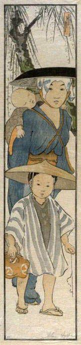 hanga gallery . . . torii gallery: From the Rice Fields by Helen Hyde http://www.hanga.com/viewimage.cfm?ID=3159