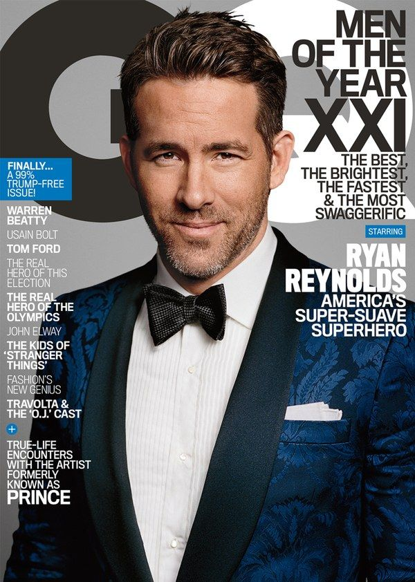 Massive movie star, father, and now GQ Man of the Year for 2016 Ryan Reynolds walks us through the biggest year he's ever had.
