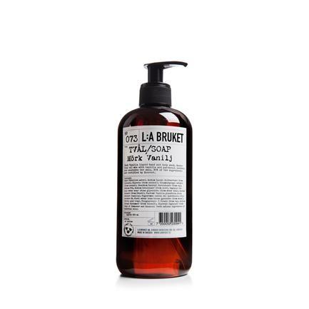 No. 073 Liquid Soap, 450 ml, mørk vanilje, L:A Bruket