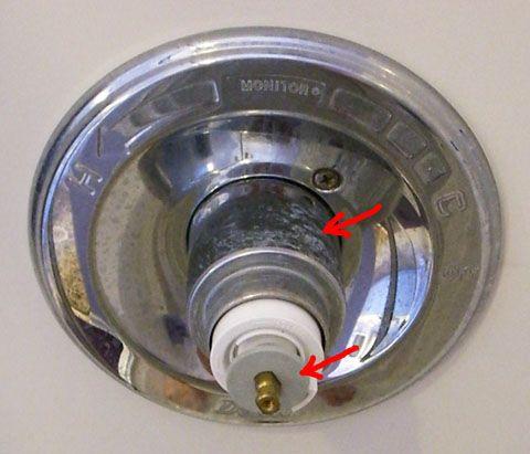 delta single handle shower faucet repair