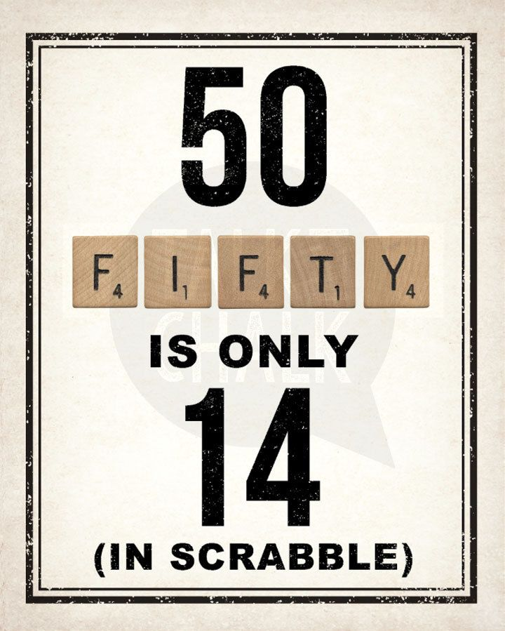 Versatile image regarding printable 50th birthday signs