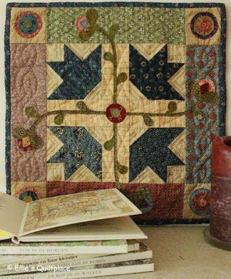 Ellie's Quiltplace: Mijn quilts                                                                                                                                                     More