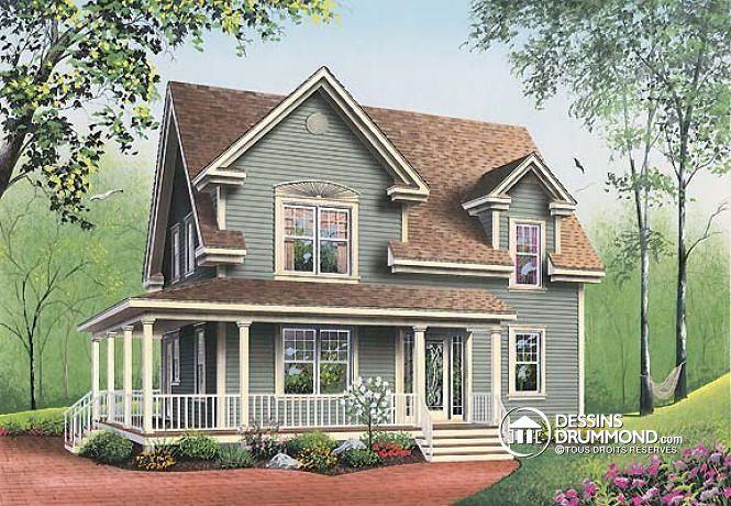 Plan de maison no. W2590 de dessinsdrummond.com