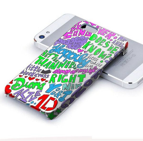 FREE SHIPPING 3D Case | 1D One Direction Happily Lyric