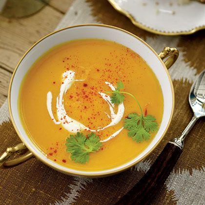 <p>Sweet Potato Soup</p> Recipe | MyRecipes