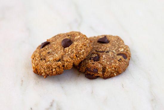 Banana Chocolate Chip Vegan Cookies