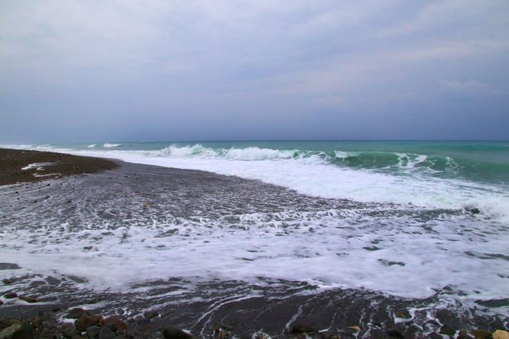 Die schönsten Plätze der taiwanesischen Ostküste Beach near Donghe Bridge, Taiwan