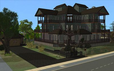 meetmetotheriver's Sims Tumblr — So I made over the House of Fallen Trees.