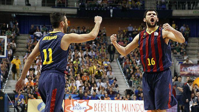 Σόου Παπανικολάου με την Barcelona!